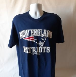 New England Patriots mens short sleeve t-shirt